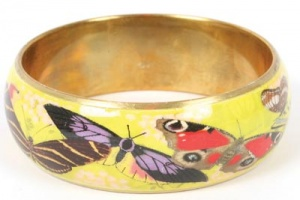 Bangle 2.5 cm butterflies