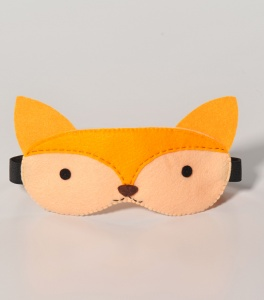Sleeping mask animals