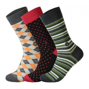 Humanitarian collection box - men's socks
