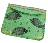 Ipad/ tablet case recycled sack fish