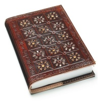Leather notebook mirage