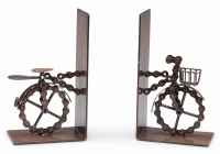 Bike chains bookends