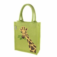 Jute bag giraffe (small)