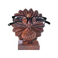Peacock eyeglass holder