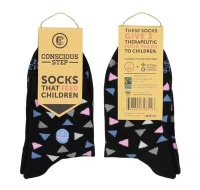 Women's socks that fight hunger