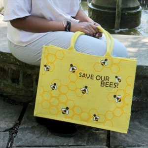 Jute bag Save our bees