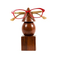Geometric eyeglass holder